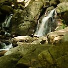 Hackelbarney Waterfalls by Sally Kady