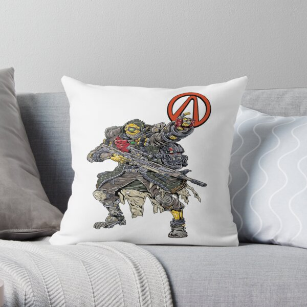 FL4K The Beastmaster Vault Symbol Borderlands 3 Rakk Attack! Throw Pillow