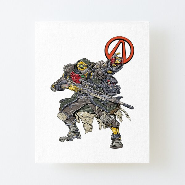 FL4K The Beastmaster Vault Symbol Borderlands 3 Rakk Attack! Canvas Mounted Print