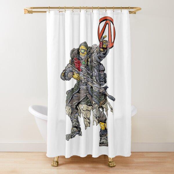 FL4K The Beastmaster Vault Symbol Borderlands 3 Rakk Attack! Shower Curtain