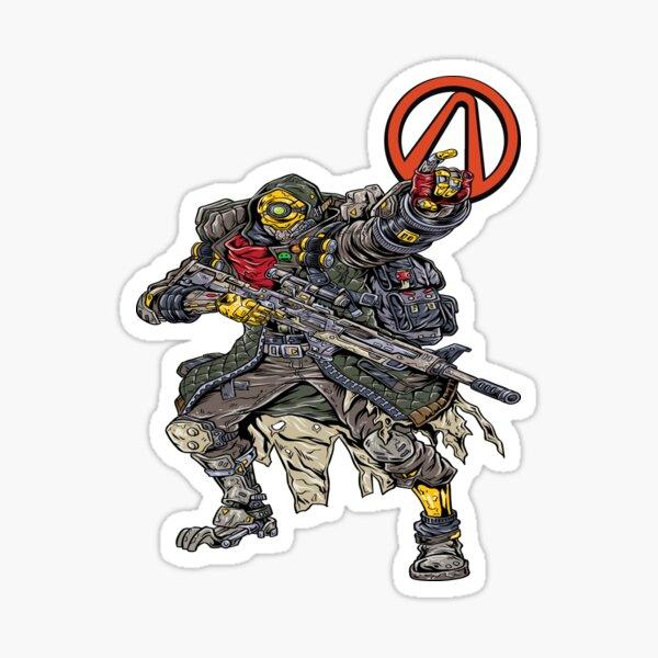 FL4K The Beastmaster Vault Symbol Borderlands 3 Rakk Attack! Sticker