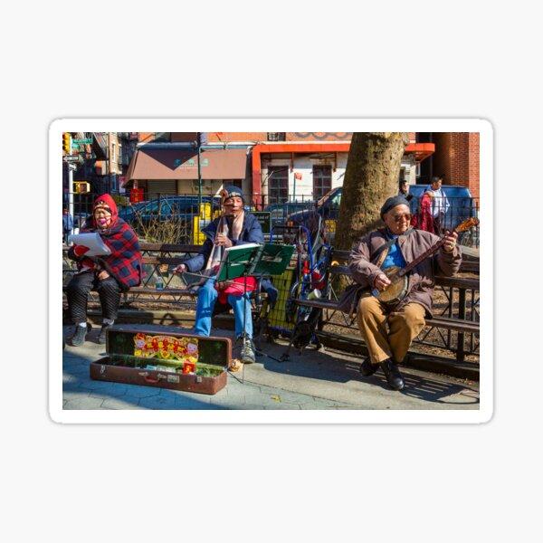 Chinatown Musicians Sticker