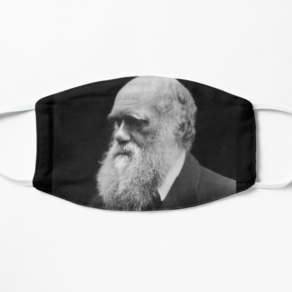 Darwin portrait Flat Mask