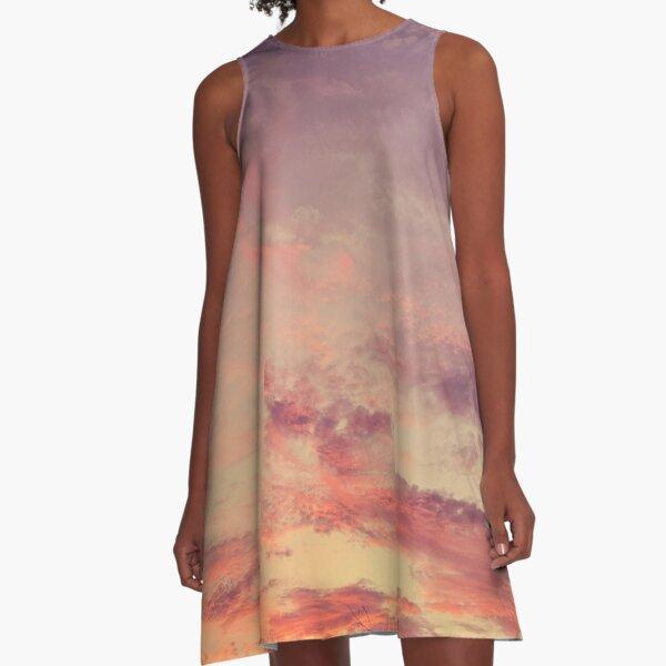 Warm Sunset A-Line Dress