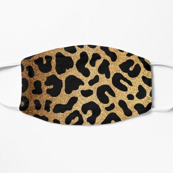 Glitter Leopard Flat Mask