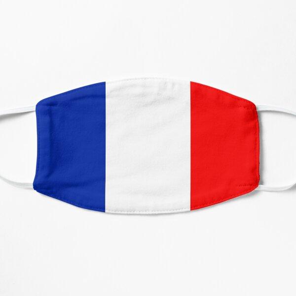 Masque Visage Drapeau Français France Masque sans plis
