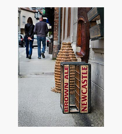 Newcastle Brown Ale Crate Photographic Print