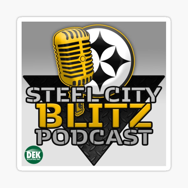 Steel City Blitz Podcast Logo Sticker