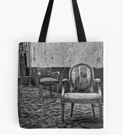 Vintage Chairs Tote Bag