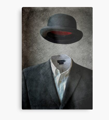 Invisable Man Metal Print