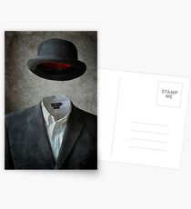 Invisable Man Postcards