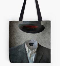 Invisable Man Tote Bag