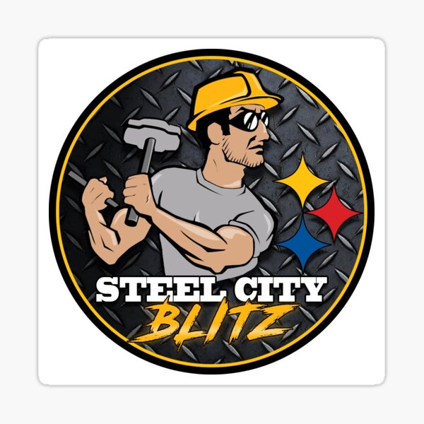Steel City Blitz Logo Sticker