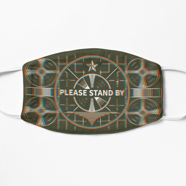 Please stand by Kaliedoscope Mask