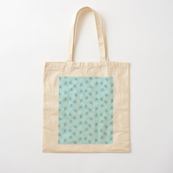 Hibiscus Cotton Tote Bag
