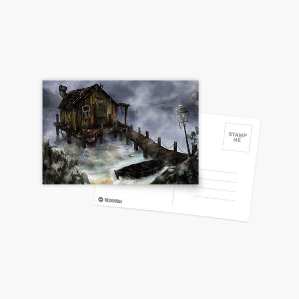 Old Fisherman's House Postcard