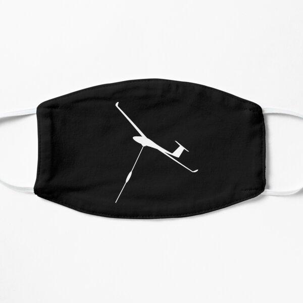 Glider pilot glider pilot winch launch gift idea Flat Mask