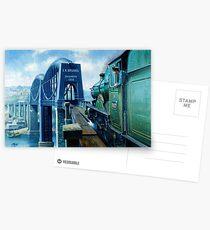 Brunel's Saltash bridge. Postcards