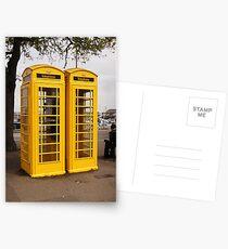 Telephone Yellow! Postcards