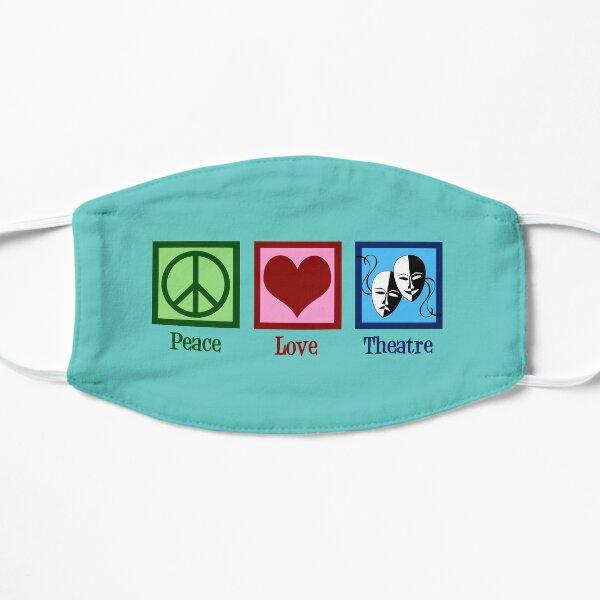 Peace Love Theatre Mask