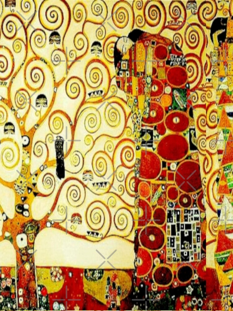 """The Tree of Life"" by Gustav Klimt | Art Nouveau Symbolism by Gascondi"