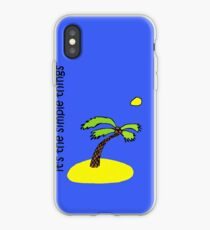 Simple Things - Island iPhone Case