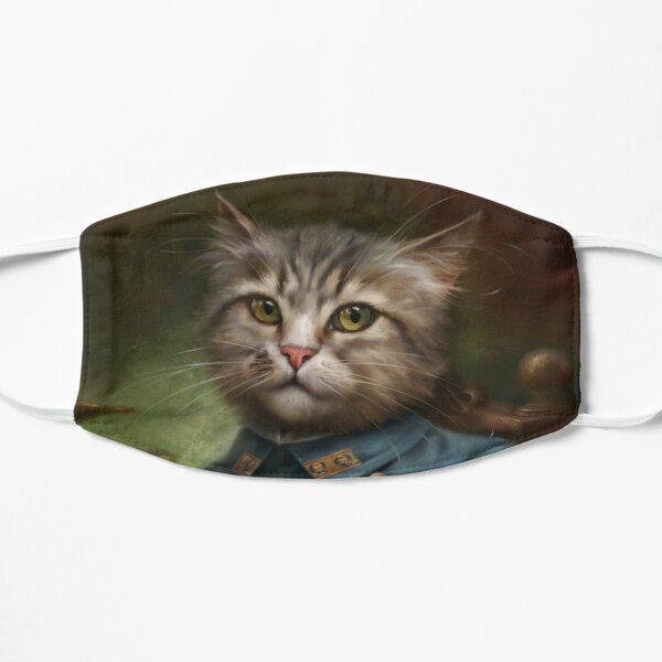 The Hermitage Court Confectioner Apprentice Cat  Mask