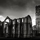 Fountains Abbey by Neil Messenger