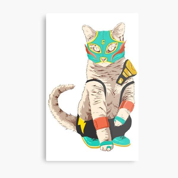 El Gato Asesino Metal Print