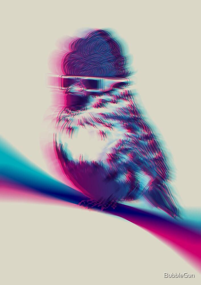Bird Hair Day by BubbleGun