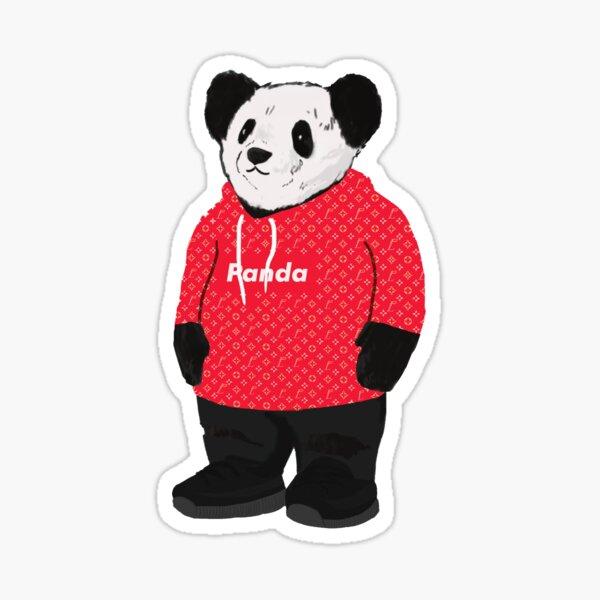 Designer Box Logo LouisThePanda Sticker