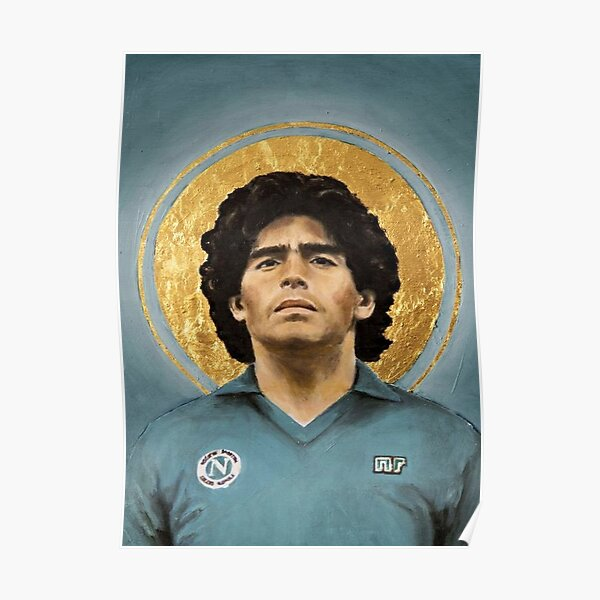Maradona le Jesus de Naples Poster