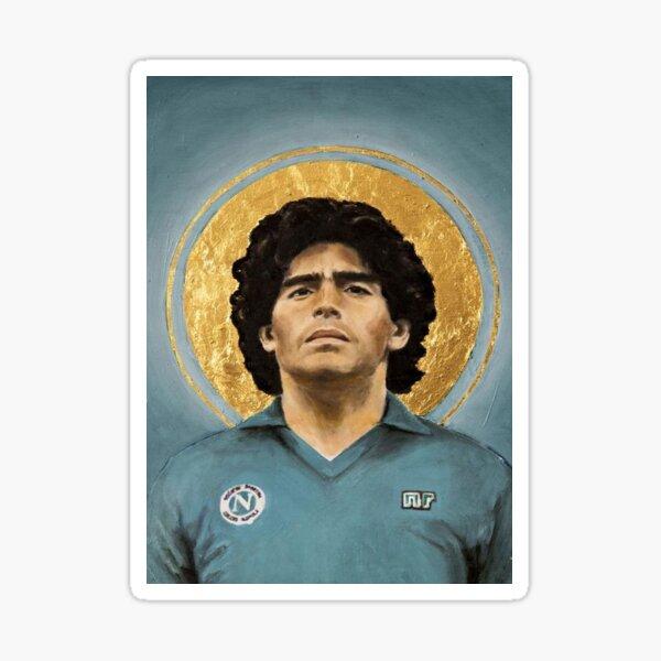 Maradona, el mejor Pegatina