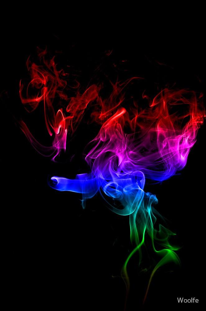 Rainbow Smoke by Woolfe
