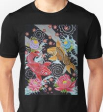 Japanese Koi - Art By Kev G Unisex T-Shirt