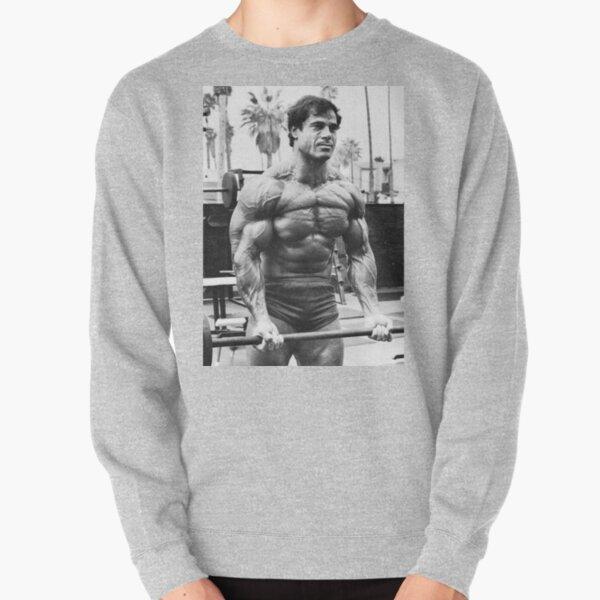 Franco Columbu Bicep Curl Pullover Sweatshirt