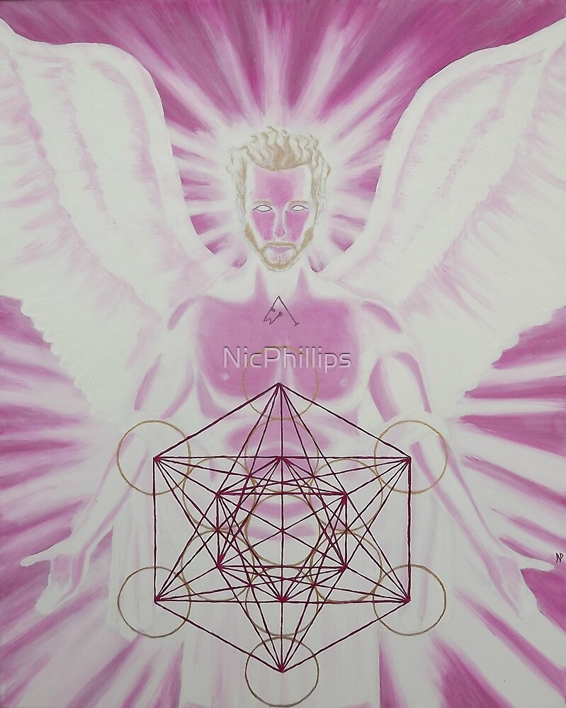 Archangel Metatron by NicPhillips
