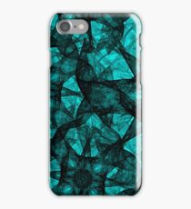 Fractal Art Turquoise G52 iPhone Case/Skin