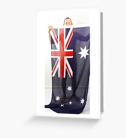 Australia is my cover Greeting Card