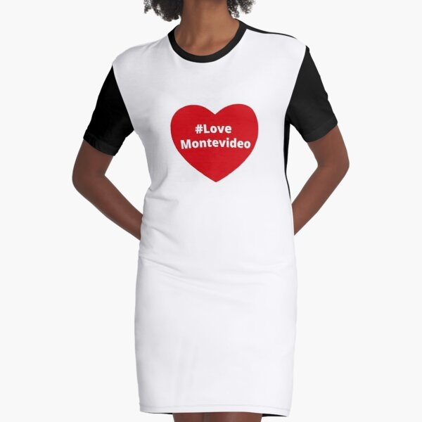 I Love Heart Montevideo Kids T-Shirt