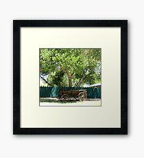 Wagon Framed Print