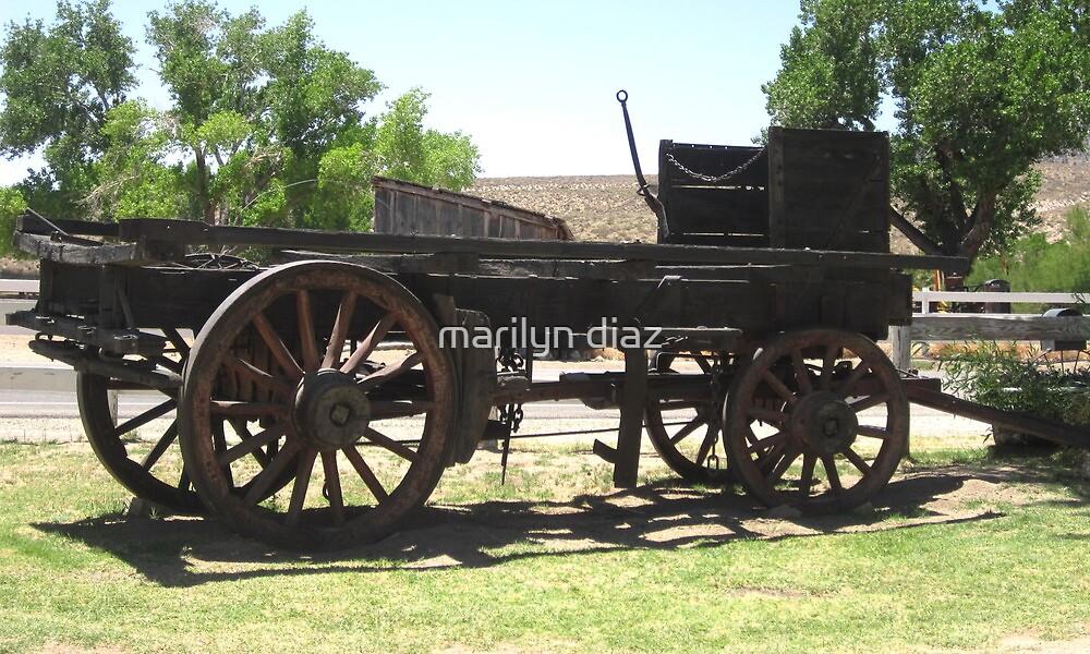 Wagons Ahoy!!!! by marilyn diaz