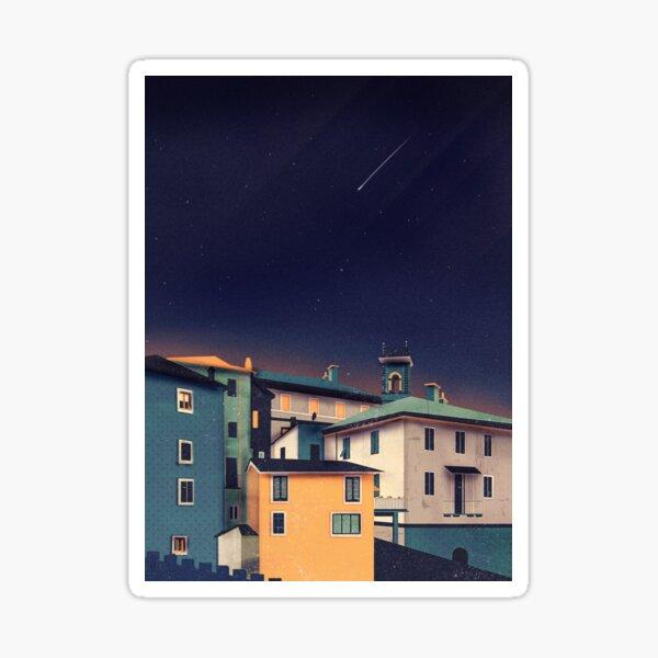 Castles at Night Sticker