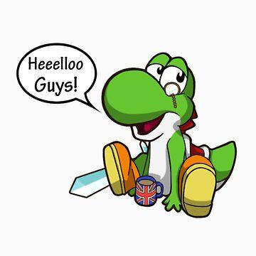 Heellooo Guys - YoshiToMario T-Shirt by YoshiToMario