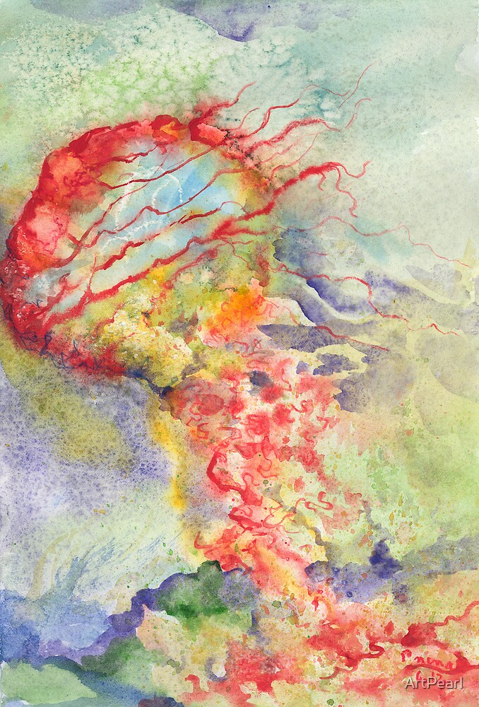 Jellyfish Jive by ArtPearl