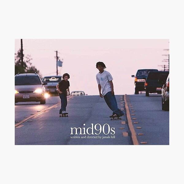 mid90s aesthetic poster Photographic Print