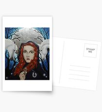 Rhiannon - Goddess of the Moon Postcards