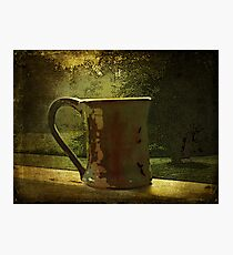 Morning Coffee on the Porch Photographic Print