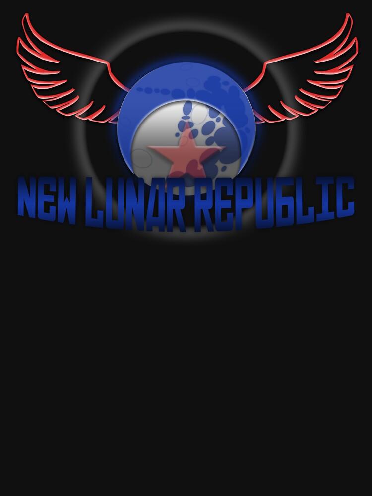 New Lunar Republic Symbol | Unisex T-Shirt