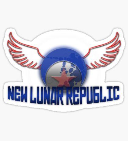 New Lunar Republic Symbol Sticker